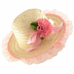 Chapéu De Festa Feminino Country Junino Caipira Palha Junina · 6 cores. R   37 ac69dcb8577