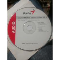 Cd Original Computadora Driver Genius Sound Maker V 1.3