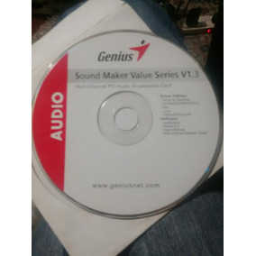 Cd Original Computadora Driver Genius Sound Maker V 1.3