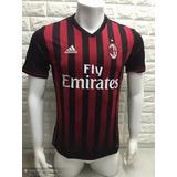 Camisa Inter De Milan Listrada Vermelho