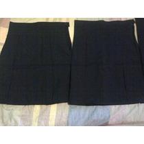 Faldas Escolares De Tachones Solo Talla 8,10 Y 12