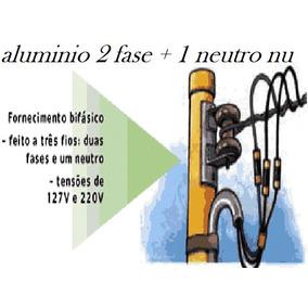 Cabo 25mm Rede Bifásica 3 Fios (2 Fase+1 Neutro) C/ 80 Mt