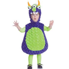 Disfraz De Monstruo C/3 Ojos Underwraps P/ni¿os Peque¿os Xl