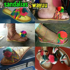 Sandalias Wayuu Capelladas