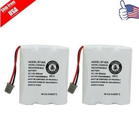 2 X Batería De Teléfono De Casa De 3.6v Para Uniden Bt-905