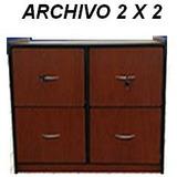 Archivo (gavetero) 2x2