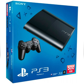 Ps3 Super Slim Playstation 500gb + 70 Jogos Super Incríveis