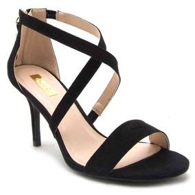 Zapato Dama Formal Sandalia Mujer Qupid Casual Color Negro
