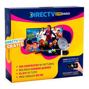 Kit Direct Tv Pre Pago Autoinstalable Hd Incluye Cable Hdmi