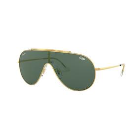 Lentes Ray Ban Originales 0rb3597 Dorado Oro - Verde