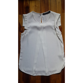 Camisa Blanca Zara Women 100% Original