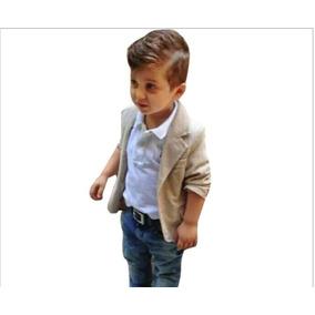 Conjunto Infantil Masculino Social - Calça Blusa Blazer -
