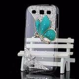 Capa Case Samsung Galaxy E7 Flor Strass Borboleta Flores 3d