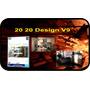 20 20 Design V9 En Esp.+ Obsequio. Diseño De Cocinas