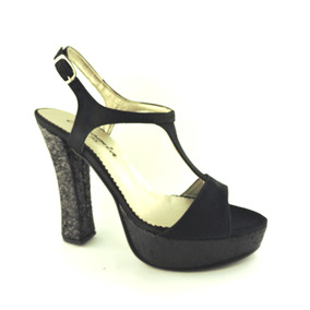 Sandalias Tacos Altos Zapatos De Fiesta Plataforma Stilettos