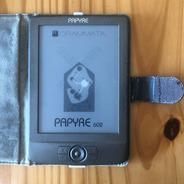 Ereader Ebook Papyre 602 Grammata Usado