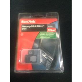 Cartão De Memória M2 - Sandisk - 512mb - Novo - Original