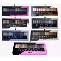 Paleta Sombra 12cores+ 1primer Ruby Rose Maquiagens Kit 6uni