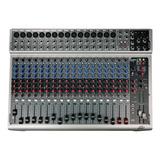 Consola Mixer Dj Peavey Pv20 Usb Bandas 20 Canales Y Efectos