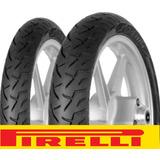 Juego Cubiertas Pirelli Mandrake Due Cg 150 Ybr 125 Rx150!