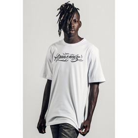 Camiseta Masculina Emicida A Rua É Nóiz Branca