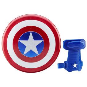 Escudo E Luva Magnética Hasbro Capitão América Guerra Civil