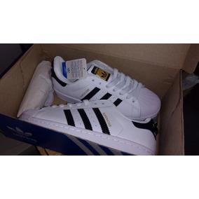 Zapatillas adidas Superstar Blancas Talle 40 Originales