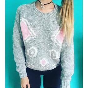Sweater Tejido Buzo Para Mujer Cat Lovetokio Indumentaria 883c56cd79dd