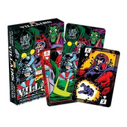 2 Set De Naipe O Cartas Ingles De Villanos De Marvel Comics