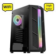 Pc Gamer Amd Athlon 200ge/16gb Ram/120ssd+1tb Hdd/a320/wifi
