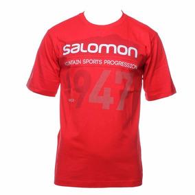 Remera Salomon 1947 Roja 14399 Ultimas Weekendpesca