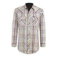 Camisa Vaquera Wrangler Hombre Manga Larga G04