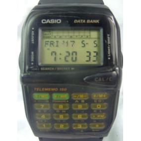 09c8317ae0d Relógio Casio Data Bank D B M 150 Módulo 1079 Relogiodovovô.