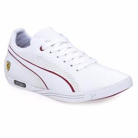 zapatillas puma ferrari blancas hombre