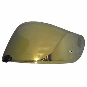 Viseira Hjc Hj-20m Para Capacete Fg-17, Is-17, Rpha St -ouro