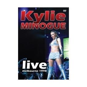 Dvd - Kylie Minogue - Live Melbourne 1998 - Lacrado
