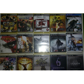 Pacote De 4 Jogos Ps3 Playstation 3