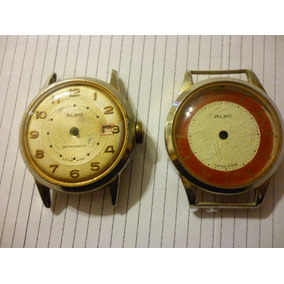 Reloj Albo Swiss R. Lapanousse Ltd + Caja Con Cuadrante Func