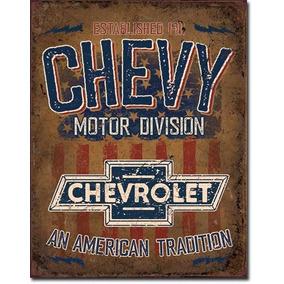 Chevrolet Tradition Poster Lamina Con Licencia Retro Vintage