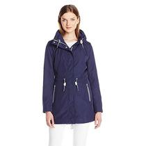 Gabardina Jessica Simpson Impermeable Trench Coat Abrigo L