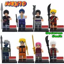 Lego 8 Pcs Naruto Shippuden Kakashi Madara Jiraya Itachi
