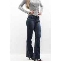 Calça Flare Jeans Barra Italiana Revanche