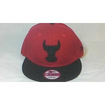 Boné New Era Chicago Bulls Aba Reta Snapback Original