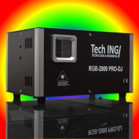 Laser 2w Ilda Rgb Full Color + Sd Card + Graficador + 2 Watt