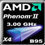 Amd Phenom Iix4 B95 3.0gh/8mb Skt Am3 Am2+ Quad C Procesador