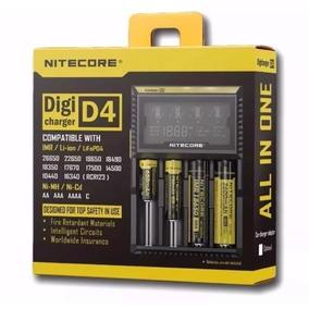 Carregador Nitecore D4 Para Baterias - Original