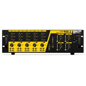 Skp Pa-900.4 Ampliicador Pa - 4 Zonas - 4 X 225w Rms