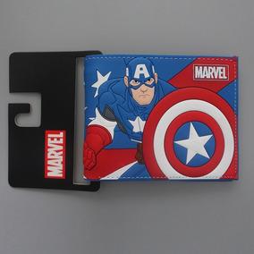 Cartera De Capitán América Nueva