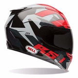 Casco Bell Rs 1 Topo Snow Camo Integral Pista Gp - Fas Motos