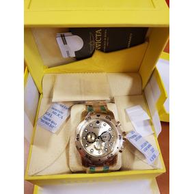 Invicta 0074 Pro Diver Reloj Cronógrafo De Acero Inoxidable